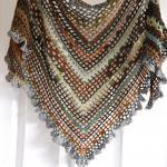 Triangular Crochet Shawl - Made To ..